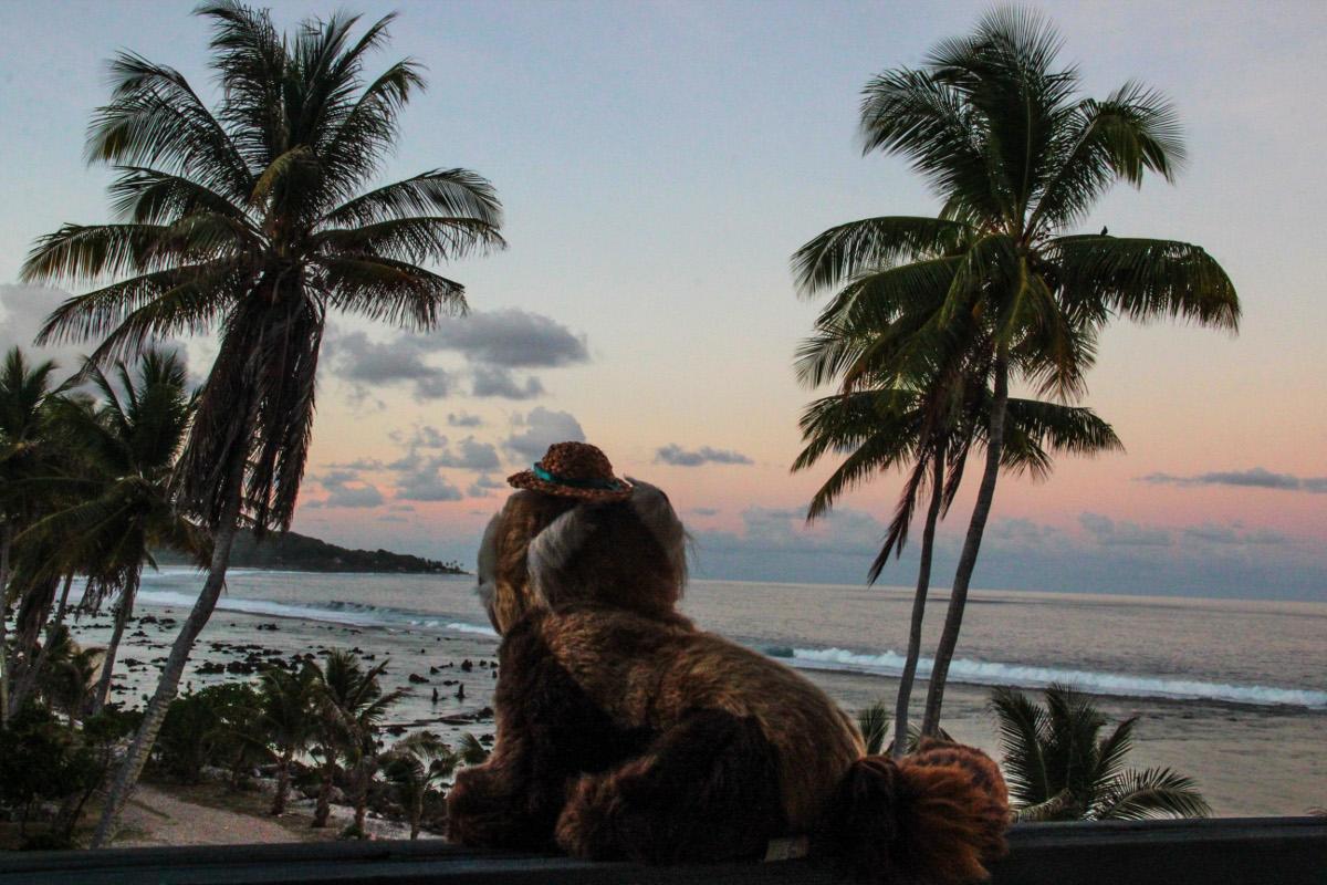 Nauru - západ slunce
