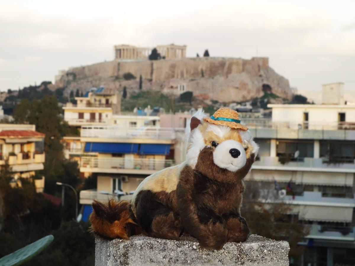 Akropole v Athénách