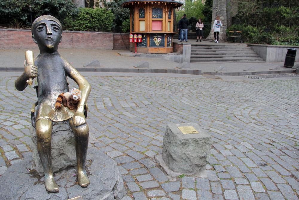 socha Tamada v Tbilisi