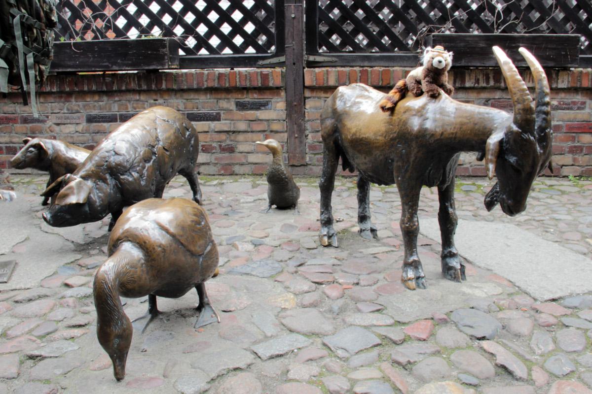 Wroclaw - Památník jatečním zvířatům