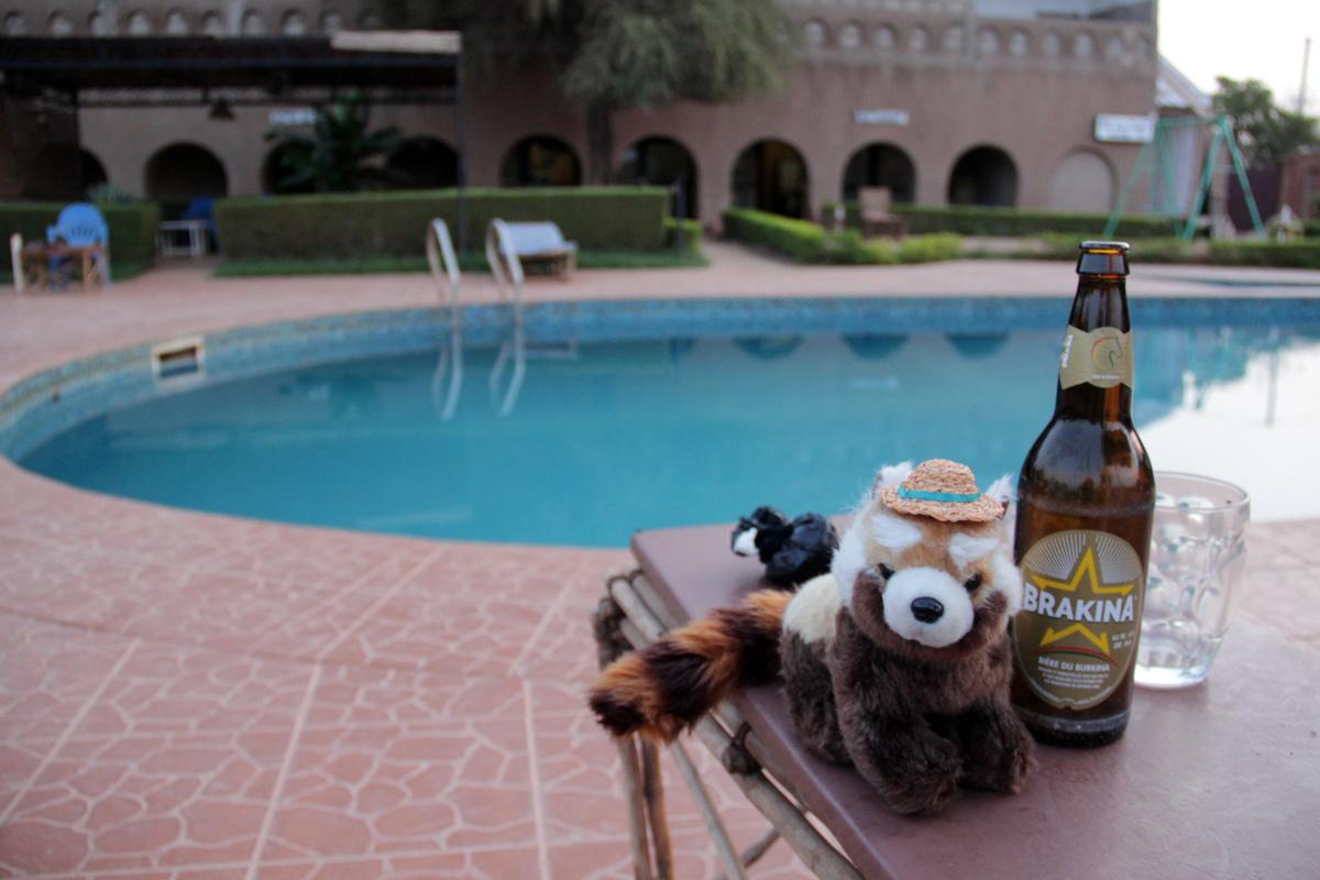 Burkina Faso - místní pivo